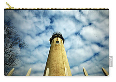 The Fenwick Light And A Mackerel Sky Carry-all Pouch
