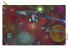 The Final Frontier Carry-all Pouch by Michael Rucker