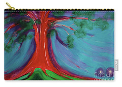 Carry-all Pouch featuring the painting The First Tree By Jrr by First Star Art