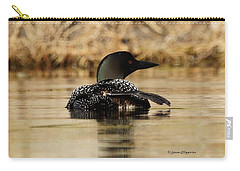 The Fish Went That Way Carry-all Pouch by Steven Clipperton