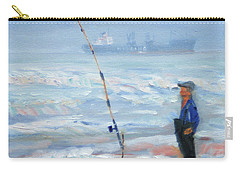 The Fishing Man Carry-all Pouch