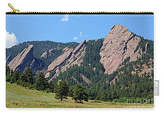 The Flatirons Carry-all Pouch