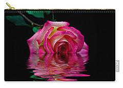 The Floating Rose Carry-all Pouch