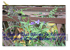 The Flower That Blooms In Adversity  Carry-all Pouch