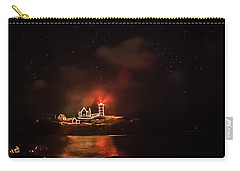 Carry-all Pouch featuring the photograph The Fog Rolls In by Jeff Folger
