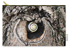 The Forest Is Watching Carry-all Pouch by Doris Potter