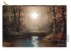 Sunrise Forest  Carry-all Pouch by Michael Rucker