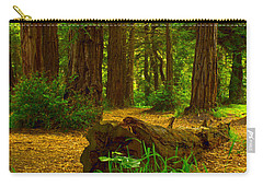 The Forest Of Golden Gate Park Carry-all Pouch