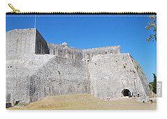 Carry-all Pouch featuring the photograph The Fort Never Fell by George Katechis