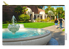 Botanical Building And Fountain At Balboa Park Carry-all Pouch
