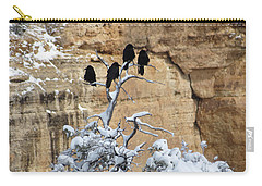 The Four Crows Carry-all Pouch by Laurel Powell