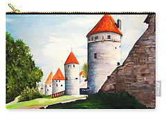 The Four Old Towers Estonia Carry-all Pouch