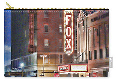 The Fox After The Show Carry-all Pouch
