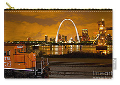 The Ftrl Railway With St Louis In The Background Carry-all Pouch