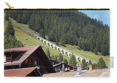 The Funicular In Murren Carry-all Pouch
