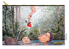 The Game Of The River Carry-all Pouch