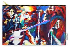 The Gang In Oils Carry-all Pouch by Kelly Awad