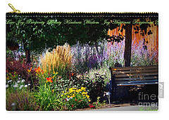The Garden Of Life Carry-all Pouch by Bobbee Rickard