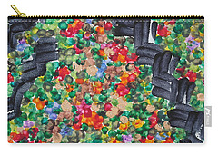 Carry-all Pouch featuring the painting The Garden Path by Michele Myers