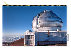 Carry-all Pouch featuring the photograph The Gemini Observatory by Jim Thompson