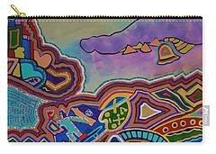 Carry-all Pouch featuring the painting The Genie Is Out Of The Bottle by Barbara St Jean