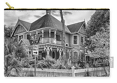 Carry-all Pouch featuring the photograph The Gingerbread House by Howard Salmon