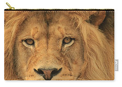 The Glory Of A King Carry-all Pouch by Laddie Halupa