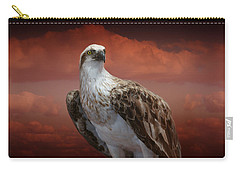 The Glory Of An Eagle Carry-all Pouch by Holly Kempe