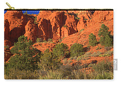 The Glory Of The Desert Red Rocks 1 Carry-all Pouch