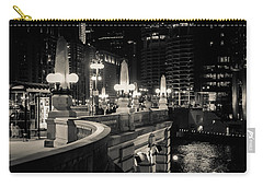 The Glow Over The River Carry-all Pouch by Melinda Ledsome
