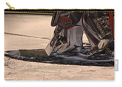 The Goalies Crease Carry-all Pouch by Karol Livote