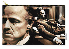 The Godfather Artwork Carry-all Pouch