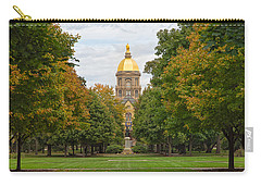 The Golden Dome Of Notre Dame Carry-all Pouch