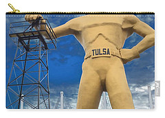 The Golden Driller - Tulsa Oklahoma Carry-all Pouch