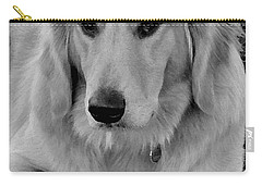 The Golden Retriever Carry-all Pouch by James C Thomas