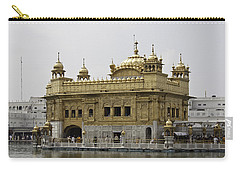 Carry-all Pouch featuring the photograph The Golden Temple In Amritsar by Ashish Agarwal