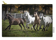 Carry-all Pouch featuring the photograph The Goldendale Four 7277 by Wes and Dotty Weber