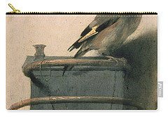 The Goldfinch Carry-all Pouch by Carel Fabritius