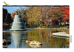 The Goodale Park  Fountain Carry-all Pouch