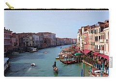 The Grand Canal Venice Oil Effect Carry-all Pouch by Tom Prendergast