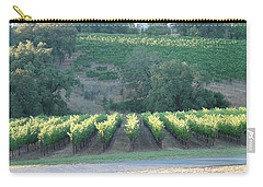 Carry-all Pouch featuring the photograph The Grape Lines by Shawn Marlow