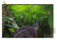 The Great Curassow 2 Carry-all Pouch by Michelle Meenawong