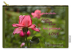 Carry-all Pouch featuring the photograph The Greatest Love by Larry Bishop