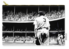 The Greatest Of All  Babe Ruth Carry-all Pouch by Iconic Images Art Gallery David Pucciarelli