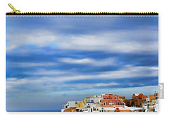 The Greek Isles-oia Carry-all Pouch by Tom Prendergast