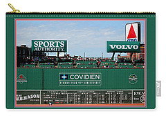 The Green Monster Fenway Park Carry-all Pouch by Tom Prendergast