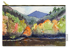 The Greenbriar River Carry-all Pouch by Katherine Miller
