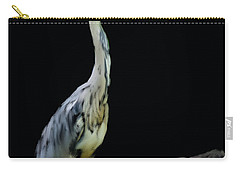 The Grey Heron Carry-all Pouch