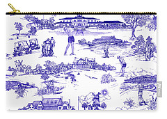 The Hamptons Historical Golf Courses Carry-all Pouch