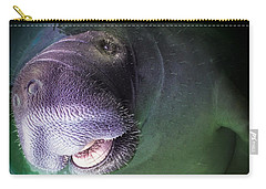 The Happy Manatee Carry-all Pouch